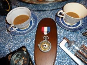 Bette's medal