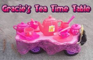 Gracies tea time table